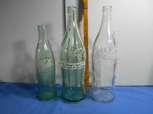 1950s COCA-COLA ERROR BOTTLE LARGE 26 FL OZ BOTTLE EMBOSSED 1 PINT/10 FL OZ