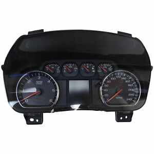 23448514 Instrument Cluster Kph Display 2015 Chevy Suburban Tahoe Police Vehicle