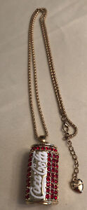Betsey Johnson Coca Cola Necklace 3D
