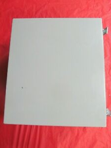 Hoffman A161410ch Steel Electrical Enclosure With Insert 16 X 14 X 10 414