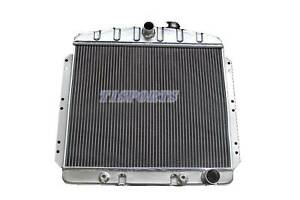 Kks4954 3 Row Radiator Fit 1949 54 Chevy Bel Air Fleetline Styleline Deluxe V8