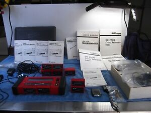 Snap On Scanner Mt2500 Cartridges Adapters Cables Manuals Trouble Shooter
