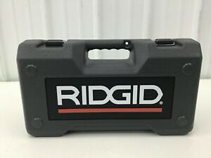 Ridgid 34678 Carrying Case Press Tool Tool Not Included