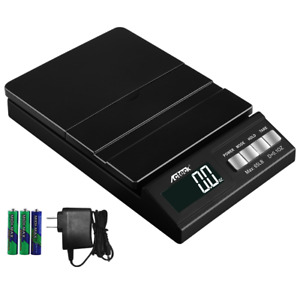 Acteck A ce65 65lb X 0 1oz Digital Shipping Postal Scale W ac Battery Black