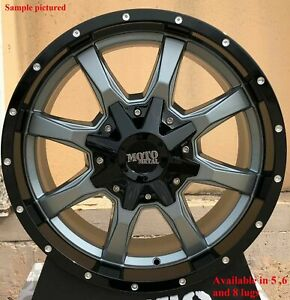 Wheels For 20 Inch Dodge Ram 1500 2007 2008 2009 2010 2011 2012 Rims 1878