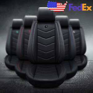 Us Standard Moon Car Suv Pu Leather Seat Covers For Nissan Altima Sentra Rogue