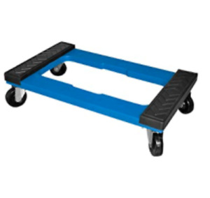 Hand Truck Furniture Dolly Trolley With Rubber Pads For Moving Heavy Objects