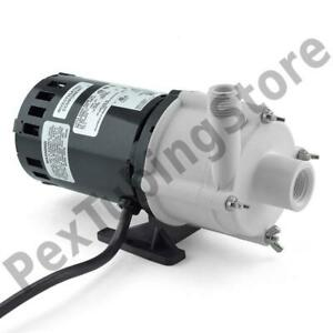 2 md Magnetic Drive Pump For Mildy Corrosive 1 30 Hp 115v