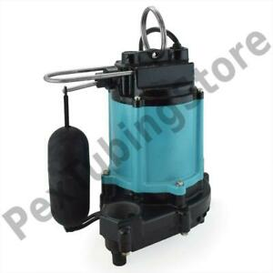 Automatic Sump effluent Pump W Float Switch And 20 Cord 1 2 Hp 115v