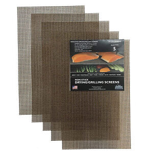 Smokehouse Products 9749 016 0000 Big Chief Drying Screens For Grilling 5 Pack