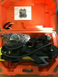 used once Draeger Scba Panorama Mask Case Air Boss 450