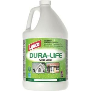 Lanco 1 Gal Dura life Clear 100 Acrylic Roof Sealant For Tiles And Shingles