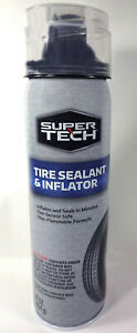 Super Tech Tire Sealant And Inflator With Coil Hose 16 Oz