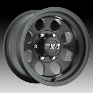 Mickey Thompson Classic Iii Matte Black 17x9 5x5 12mm 90000001794