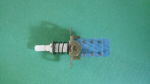 Vintage Dpdt 6 Pins Push button Switch