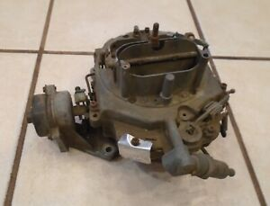 1966 1967 Ford Big Block 390 Engine 4bbl Carburetor C7af ad Autolite 4300 Series