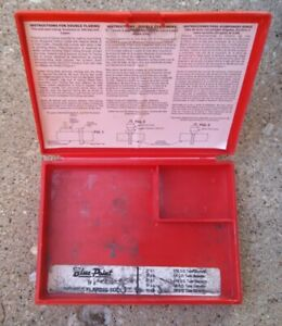 Blue Point Tfm 5 Metric Double Flaring Tool Kit Case
