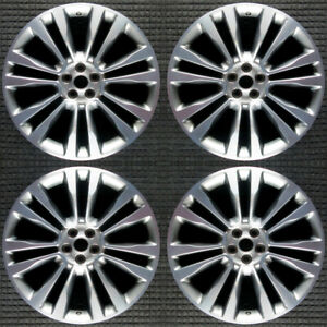 Lincoln Mkx Machined 21 Oem Wheel Set 2016 To 2018