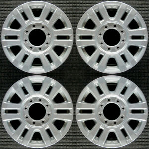 Ford F 250 Super Duty Painted 18 Oem Wheel Set 2017 To 2019
