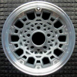 Chevrolet Astro Machined W Charcoal Spokes 15 Inch Oem Wheel 1986 To 1992
