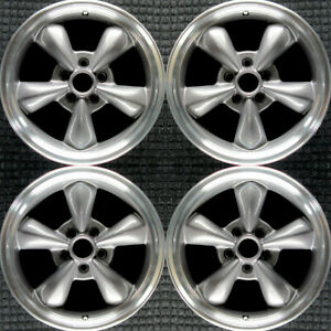 Ford Mustang Machined 17 Oem Wheel Set 1994 To 2004