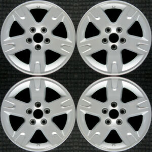 Ford Ranger All Silver 16 Oem Wheel Set 2002 To 2011