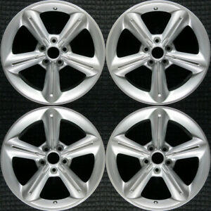 Ford Mustang Painted 18 Oem Wheel Set 2010 To 2012