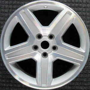 Dodge Charger Machined W Silver Pockets 18 Inch Oem Wheel 2008 To 2010