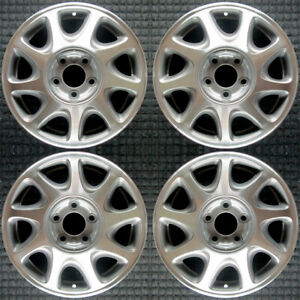 Buick Regal Machined 16 Oem Wheel Set 1997 To 2000