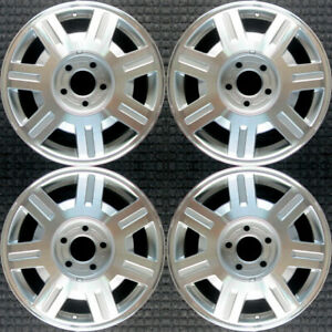 Cadillac Deville Machined 16 Oem Wheel Set 2003 To 2005