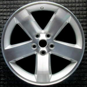 Dodge Charger Machined W Silver Pockets 18 Inch Oem Wheel 2005 To 2010