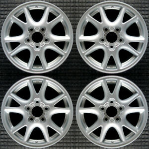 Chevrolet Camaro All Silver 16 Oem Wheel Set 2000 To 2002