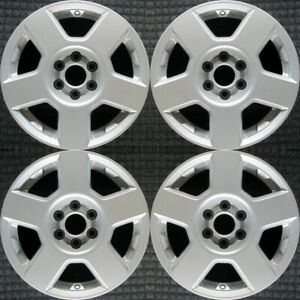 Nissan Frontier All Silver 16 Oem Wheel Set 2005 To 2008