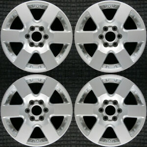 Nissan Frontier All Silver 16 Oem Wheel Set 2006 To 2013