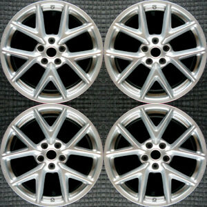 Nissan Maxima All Silver 19 Oem Wheel Set 2009 To 2011