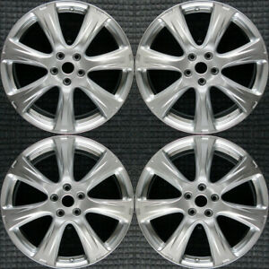 Nissan Murano Hyper Silver 20 Oem Wheel Set 2012 To 2014