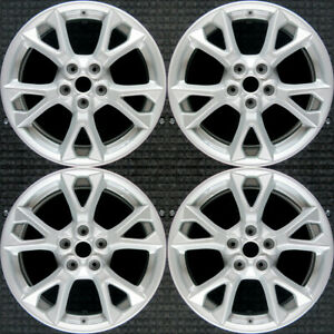 Nissan Maxima All Silver 18 Oem Wheel Set 2012 To 2015