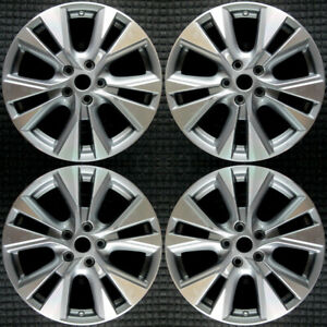 Nissan Murano Machined 18 Oem Wheel Set 2015 To 2019