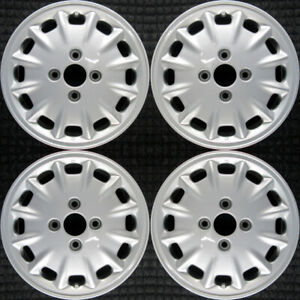 Honda Accord All Silver 15 Oem Wheel Set 1996 To 1997