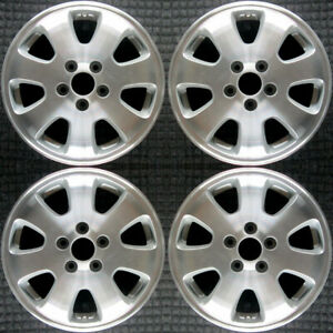 Honda Odyssey Machined 16 Oem Wheel Set 2002 To 2004