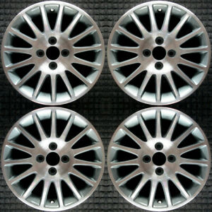 Honda Civic Machined 15 Oem Wheel Set 2004 To 2005