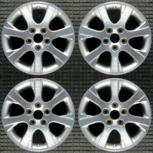 Toyota Camry Machined 16 Oem Wheel Set 2005 To 2006