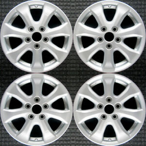 Toyota Camry All Silver 16 Oem Wheel Set 2007 To 2011