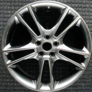 Ford Fusion Hyper Silver 19 Inch Oem Wheel 2013 To 2016