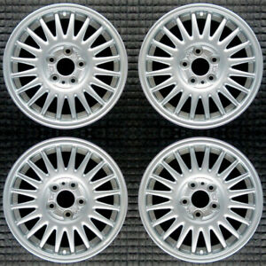 Volvo 740 Painted 15 Oem Wheel Set 1992 To 1998