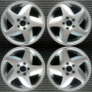 Volvo 850 Left All Silver 16 Oem Wheel Set 1994 To 2000