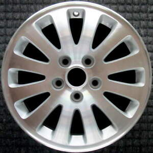Buick Lucerne Machined 16 Inch Oem Wheel 2006 To 2008