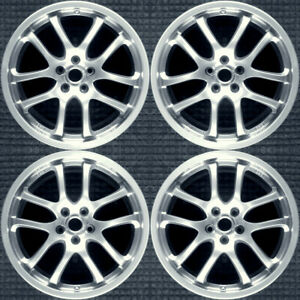 Infiniti G35 Hyper Silver 19 Oem Wheel Set 2005 To 2007