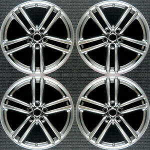 Infiniti M35 Hyper Silver 19 Oem Wheel Set 2006 To 2007