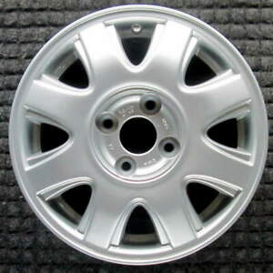 Chevrolet Aveo All Silver 14 Inch Oem Wheel 2004 To 2005